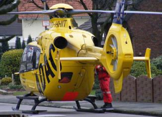 Rettungshelikopter ADAC Luftrettung Flugrettung Eurocopter Fenestron Rettungsdienst Notarzt