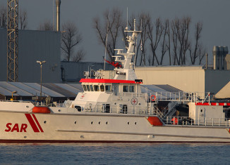 Seenotkreuzer der DGzRS