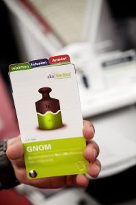 GNOM - Gewichtsadaptierte Notfallmedikamente beim Kindernotfall (Foto: Jürgen Kappelmeier)