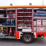 Gerätewagen Rettungsdienst mit Anhänger der Fraport AG am Flughafen Frankfurt - Quelle: fire-photographer.org