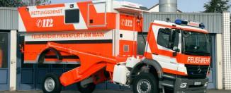 Schwerlast-Rettungswagen der Feuerwehr Frankfurt - Quelle: Feuerwehr Frankfurt a.M.