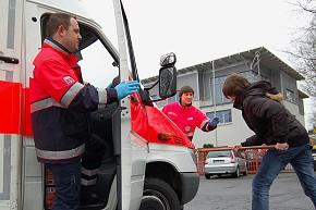 Gewalt gegen Retter - Quelle: www.rettungsdienst.de