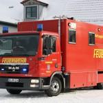Gerätewagen Wasserortung Rettungshunde - Bild: www.feuerwehrmagazin.de