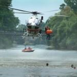Luftunterstützte Wasserrettung mit RTH - Bild: bayern.dlrg.de