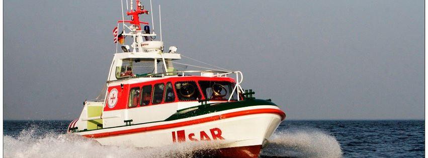 Seenotrettungsboot im Einsatz - Bild: www.seenotretter.de