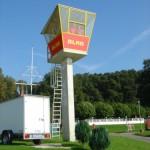 Wachstation der DLRG - Bild: web.ard.de