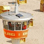Wachturm der DLRG - Bild: www.travemuende-aktuell.de