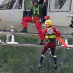 Hubschrauber Wasserrettung - Bild: www.wasserwacht-sachsen.de