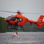 Hubschraubergestütze Wasserrettung - Bild: kvberchtesgaden.brk.de