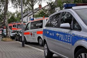 Fahrzeuge von Polizei, Feuerwehr und Rettungsdienst beim Amoklauf in Memmingen - Quelle: www.newscentral.de