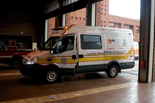 Ambulance des staatlichen Rettungsdienstes - Quelle: fromwannabetomedic.wordpress.com