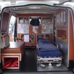 Innenausbau einer Ambulanz - Quelle: ambulance-photos.com - Foto: Andreas Hasselmann