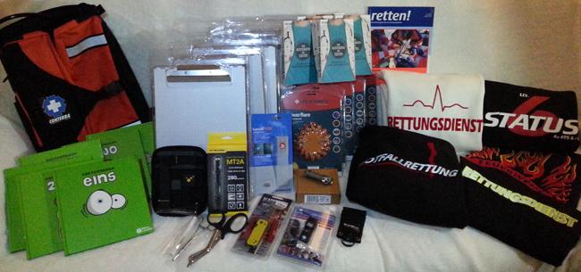 Preise Weihnachtsgewinnspiel 2012