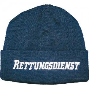 """Wintermütze mit Stick """"Rettungsdienst"""" - Zur Verfügung gestellt von RescueTec"""