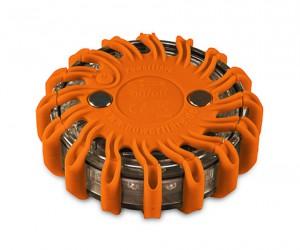5x Powerflare Orange mit Akku zur Verfügung gestellt von Life is simple