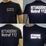 5x je ein T-Shirt mit Wunschtext - Zur Verfügung gestellt von HELPI