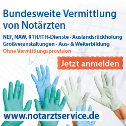 Notarztservice - Agentur fr Notfallmediziner