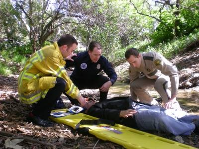 Spineboard Rescue - Quelle: Discovery Deutschland