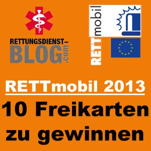10 Freikarten für die RETTmobil 2013 zu gewinnen!