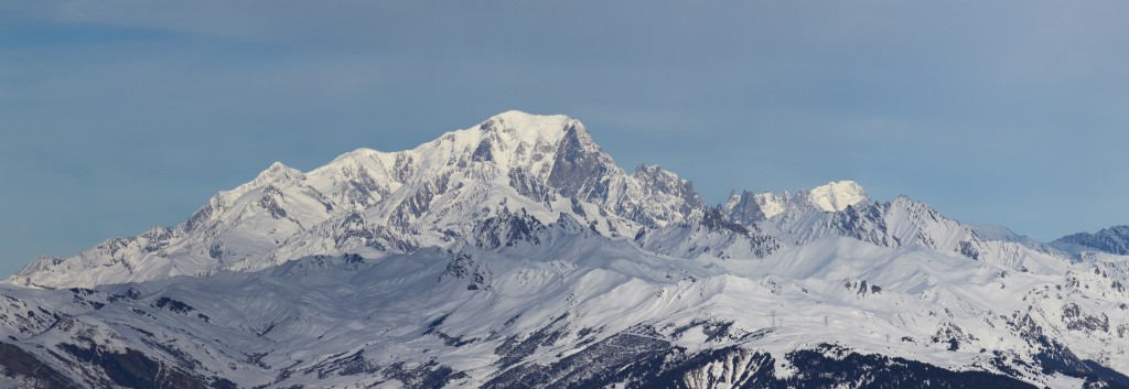 Mont Blanc Panorama - Quelle: Wikipedia (Wikimedia Commons)