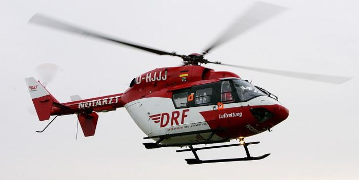 RTH im Landeanflug - Quelle: DRF Luftrettung