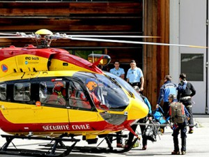 Hubschrauber der Securité Civile - Quelle: Bergrettung.at