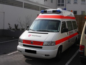 Krankentransportwagen (KTW) der Malteser
