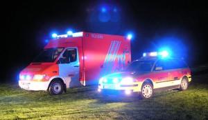 Rettungsdienst: Rettungswagen und Notarzt