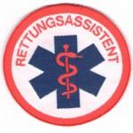Rettungsdienst Abzeichen Rettungsassistent