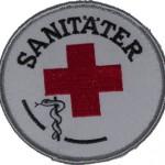 Rettungsdienst Aufnäher Sanitäter des DRK