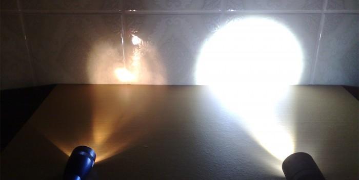 Taschenlampenvergleich - Quelle: zeroathome.de