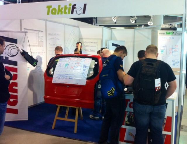Der Stand von Taktifol auf der RETTmobil 2013 (Foto: Taktifol)