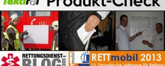 Produktcheck Rettmobil 2013 - Innovatives Tool für Führungskräfte von Taktifol