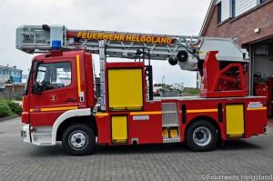 Neue Drehleiter der Freiwilligen Feuerwehr Helgoland (Foto: Feuerwehr Helgoland)