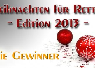 Gewinner des Weihnachtsgewinnspieles - Weihnachten für Retter 2013 auf Rettungsdienst-Blog.com