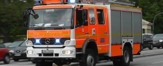 HLF der Feuerwehr Hamburg im Einsatz