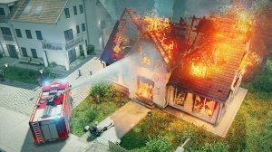 Feuerwehr - und Rettungsdienst - Einsatz im Spiel Emergency 5