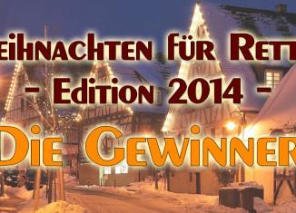 Weihnachten für Retter 2014 - Die Gewinner