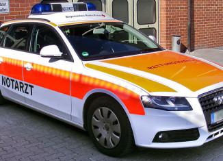 NEF Notarzt auf Basis eines Audi Avant