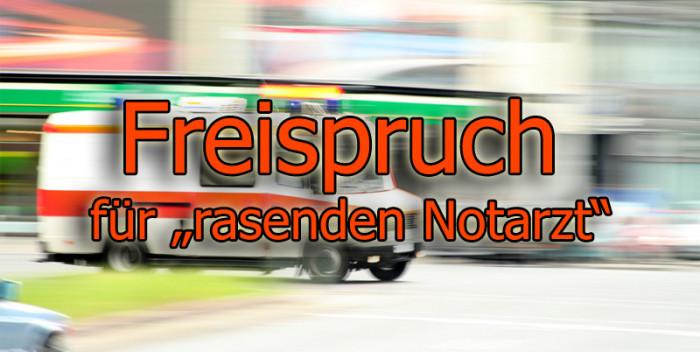 Strafbefehl gegen Notarzt aus Neuburg aufgehoben